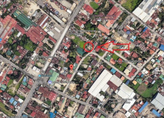 4. Opao lot San Jose Vill Google map
